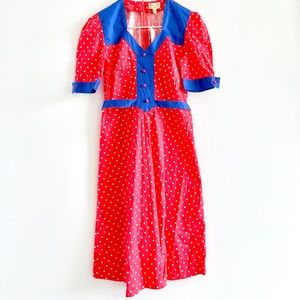 Lindy Bop Retro / Vintage Red Polka Dot